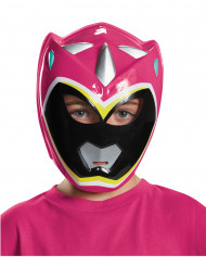 Maske Power Rangers™ Dino Charge rosa für Kinder