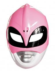 Maske Power Rangers™ rosa für Erwachsene