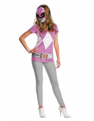Power Rangers™ Kostüm für Damen rosa