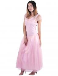 Kostüm Romantische Prinzessin rosa für Damen