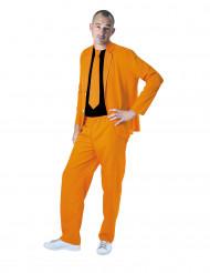 Anzug neonorange für Erwachsene