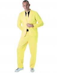 Neongelber Anzug für Erwachsene