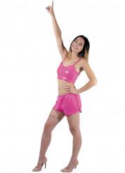 Bustier rosa für Damen