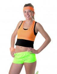 Mini Short neongrün für Damen