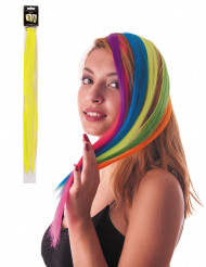Gelbe Haarsträhne mit Clip-Verschluss