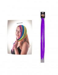 Haarstähne violett