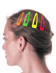 Haarspangen-Set 4 Stück bunt