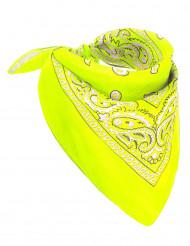 Bandana neon gelb für Erwachsene