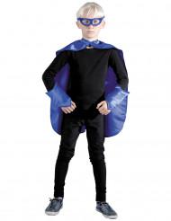Superhelden Set blau für Kinder