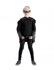 Superhelden Set schwarz für Kinder