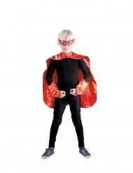 Superhelden Set rot für Kinder