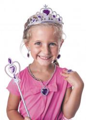 Prinzessinnen Accessoires Set für Mädchen - violett