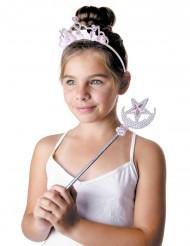 Prinzessin - Tiara und Zauberstabfür Mädchen