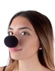 Clowns - Nase schwarz Schaumstoff