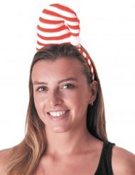 Haarreif Zuckerstangen Mütze für Erwachsene