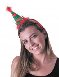 Haarreif Kleine Weihnachtselfe für Erwachsene