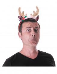 Weihnacht-Stirnband Rentiere für Erwachsene