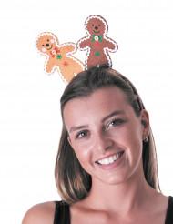 Haarreif Lebkuchenmann für Erwachsene