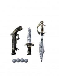 3 Spielwaffen für Pirat
