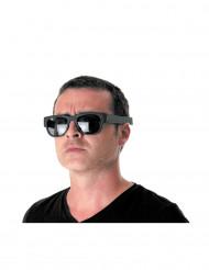 Schwarze Klappbrille für Erwachsene