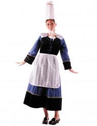 Damen-Kostüm Bäckerin