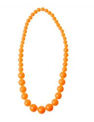 Perlenkette für Erwachsene neonorange
