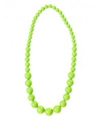 Perlenkette für Erwachsene neongrün