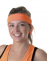 80er Stirnband für Erwachsene orange