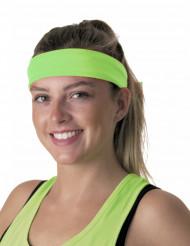 80er Jahre Neon Haarband grün
