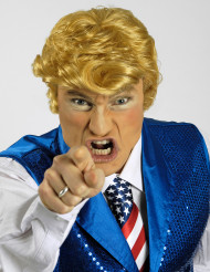 Perücke des amerikanischen Präsidenten Donald