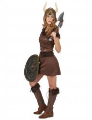 Sexy Wikinger Frau Kostüm