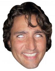 Pappkartonmaske Justin Trudeau