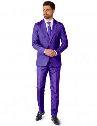 Suitmeister™Anzug Mr Solid violett