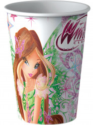 8 Papp -Trinkbecher Winx Club™ 25 cl