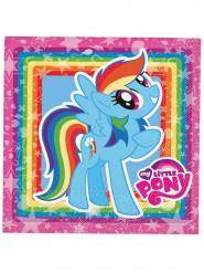 Papier-Servietten My Little Pony™ 33x33cm