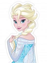Zuckerfolie Elsa die Eiskönigin™ 25x13cm