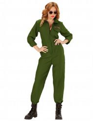 Kostüm Flugpilot für Damen