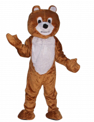 Maskottchen Kostüm Braunbär