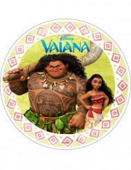 Tortenaufleger Vaiana™ 21cm