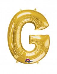 Folienballon Buchstabe G gold 63  x 81 cm