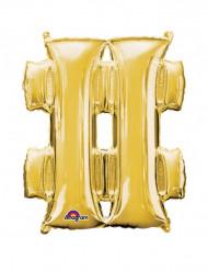 Aluminium Ballon Symbol # 68 x 83 cm