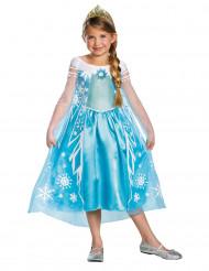 Deluxe Elsa Frozen™ Kostüm für Kinder