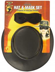 Zorro™ Accessoire-Set für Kinder schwarz