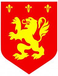 Mittelalterliches Wappen rot