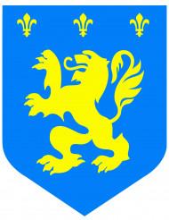 Deko Mittelalterliches Wappen blau