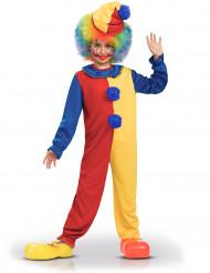 Clown Kostüm für Jungen Overall bunt