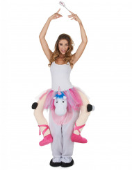 Kostüm Tänzerin auf Einhorn für Erwachsene
