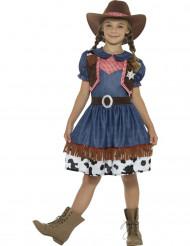 Texan Cowgirl-Kostüm Mädchen