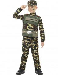 Kostüm Militärtarnung für Jungen
