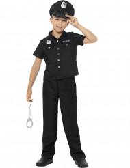 Polizei-Kostüm für Jungen im New York Stil